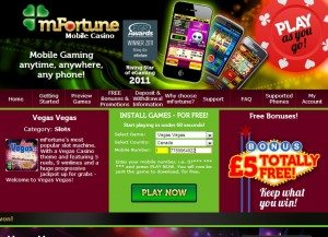 mfortune android casino games free sms billing