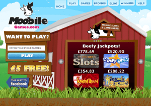 mobile slots deposit by bt phone sms