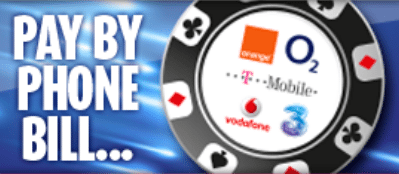 mobile casino games pay by phone bill