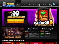 Pocket Fruity Slots Pay by Phone Bill SMS Casino, Up to £100 Welcome Bonus!