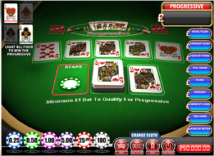 Hi-Lo Poker Freeplay - Top Slot Site