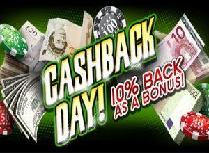 slot pages cash back bonus
