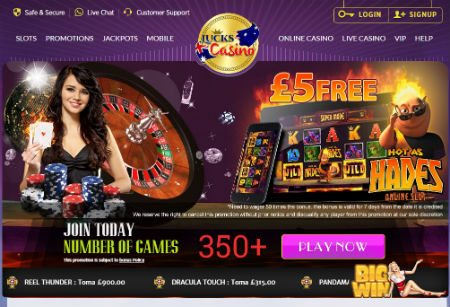 Lucks Online Casino Free Bonus no Deposit