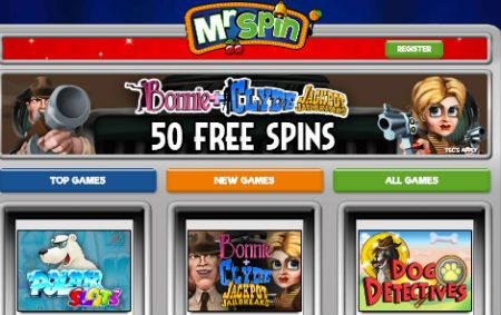 Mr Spin casino Sign In