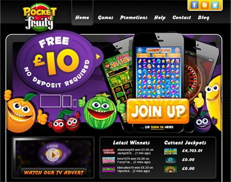 Pocket Fruity's Latest and Greatest Promotions