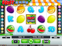 Spin Genie Fruit Shop Slots Free Spins Bonus