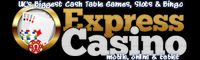 Express Casino - Blackjack Tekst Bet Deposit troch Phone SMS, FRIJ
