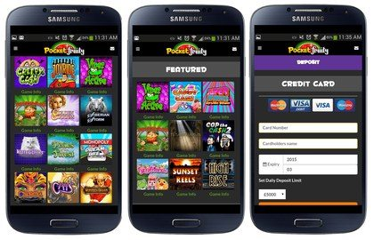 Awesome Range of Mobile Slots Games Available
