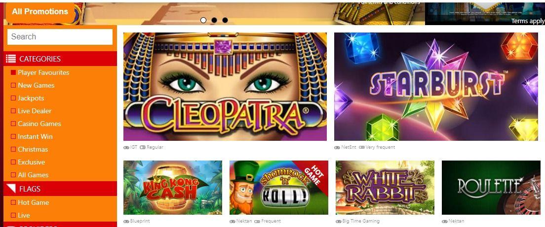 Slots Casino Bonuses