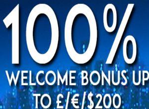 cash match welcome bonus offers