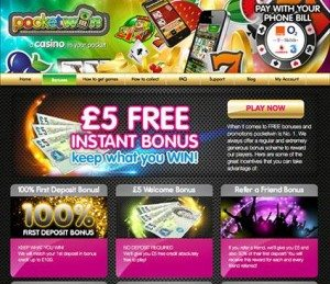 pocketwin phone casino free bonus
