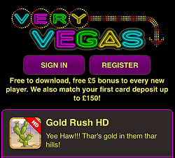 New Mobile Phone Casino Billing Bonus with Zero Deposit | Very Vegas!