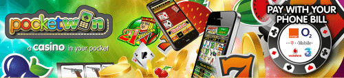 Slots Pay by Phone Bill Casino Games
