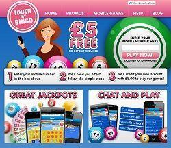 Bingo SMS Pay With Phone Credit
