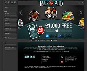 Jack Gold No Deposit Casino