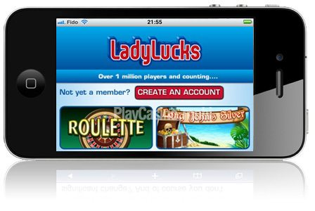 LadyLucks Mobile Casino