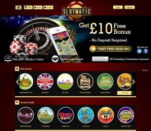 slotmatic mobilephone casino online