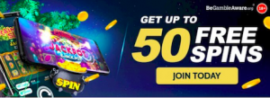 free spins signup welcome bonus