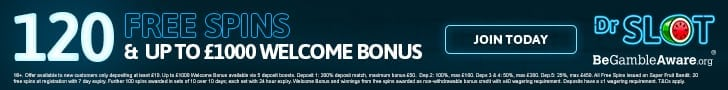 dr slot casino welcome deposit bonus