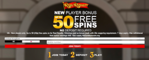Mr Spin Casino signup bonus welcome deposit