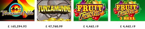 best UK progressive jackpot slots