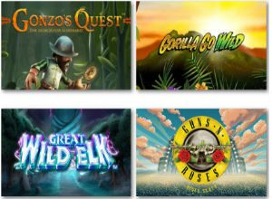 top mobile casino UK games