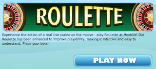 Play Free Roulette HD Moobile dula