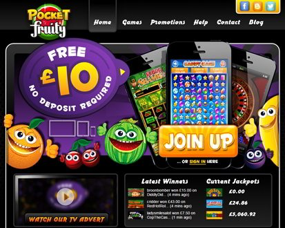 Pocket Fruity Mobile Casino