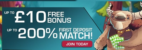mobile casino deposit match welcome bonus