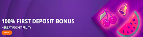 Pocket Fruity Online Casino Slots Bonus