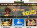 PocketWin Login Page Casino
