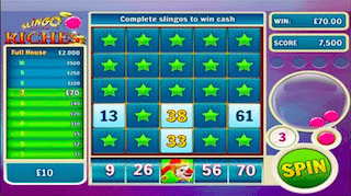 Slingo Riches Spin Genie Free Mobile Phone Slots
