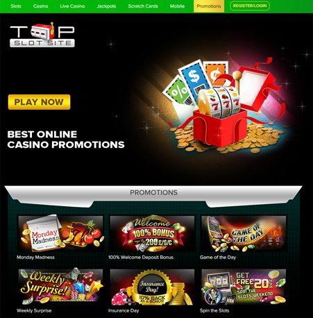 Big Cash Weekend Race at Top Slot Site