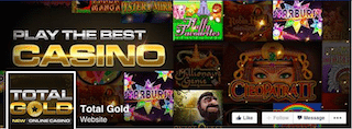 Total Gold Casino FaceBook