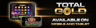 Total Gold Mobile Casino £10 Free Bonus