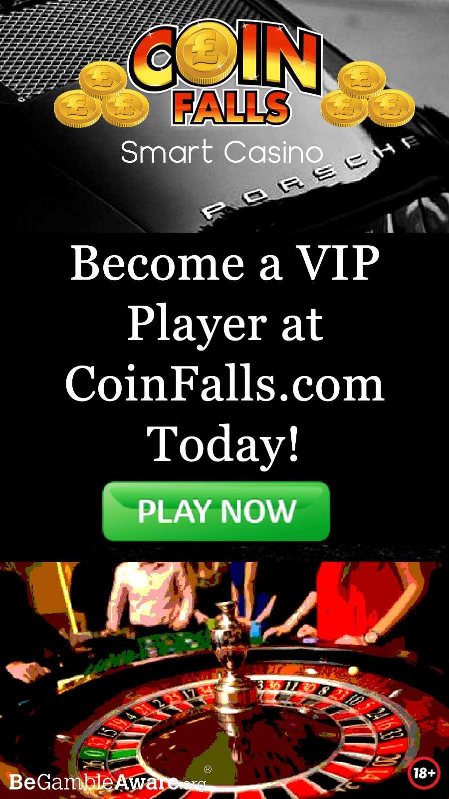 CoinFalls Casino Visit CoinFalls.com