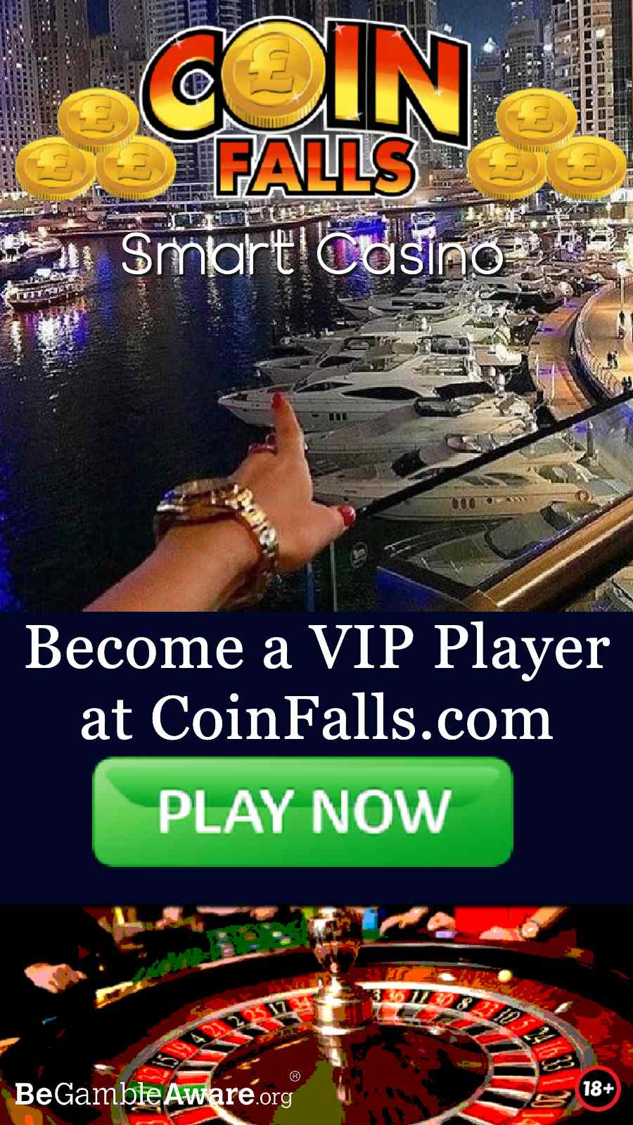 coinfalls mobile casino online