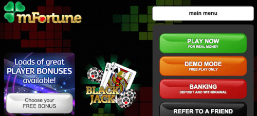 mFortune Free-Play Casino Games