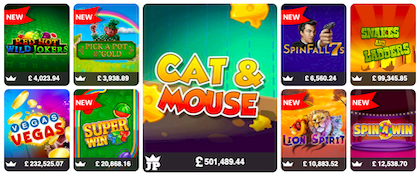 top real money slots and casino games