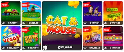 mFortune jackpot slots games online