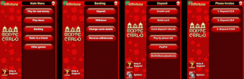 mFortune Mobile Casino cassetta da Bill Phone