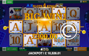 Slots 4 Kings Jackpots