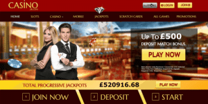 big win progressive jackpot slots